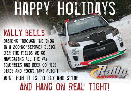 Tad Benson - Rally America website graphic
